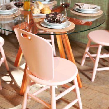 Cadeira SP collor candy rosa