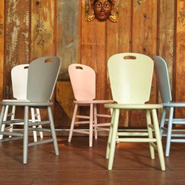 Cadeiras SP collor candy coloridas